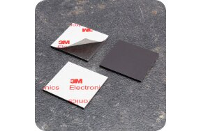 MAGNETS SELF ADHESIVE 30x30mm 50pcs